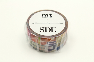 mt×SDL Remixed shapes [幅24mm×10m]