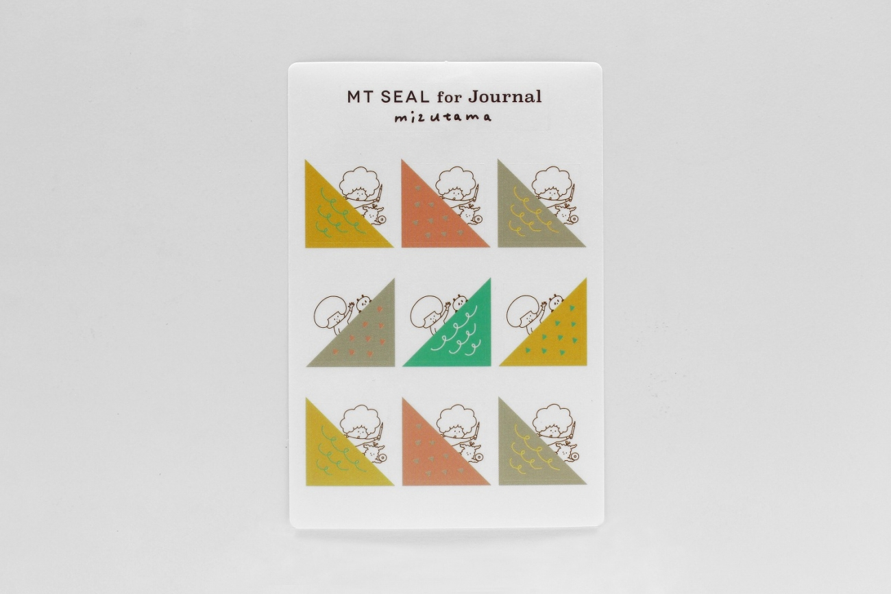 mt×Journal展mt seal Journal mizutama・ひょっこり斜め