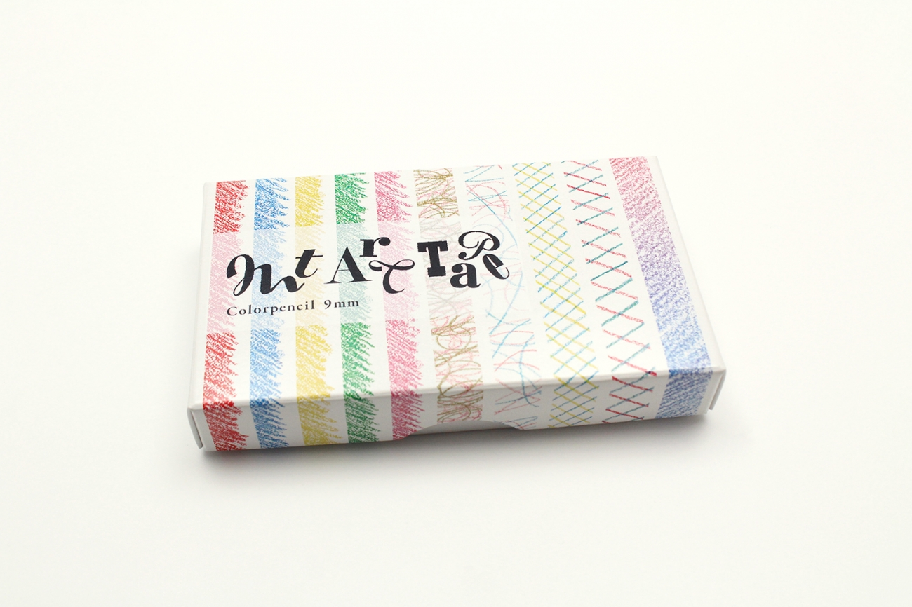 mt art tape 色鉛筆 9mm幅セット