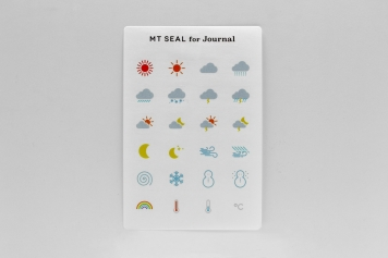 mt×Journal展mt seal for Journal 天気