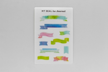 mt×Journal展mt seal for Journal タイトルリボン