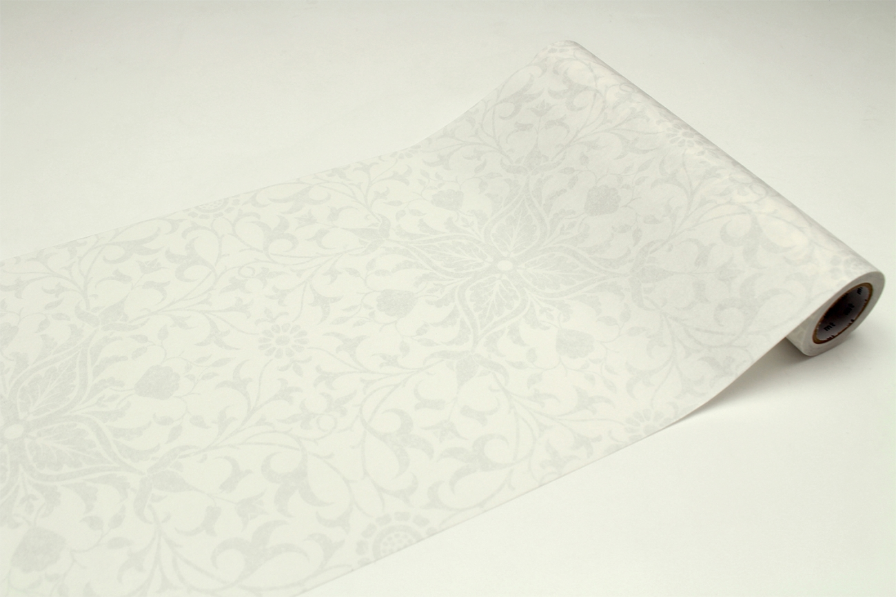 mt CASA モリスPure Net Ceiling Embroidery Paper White